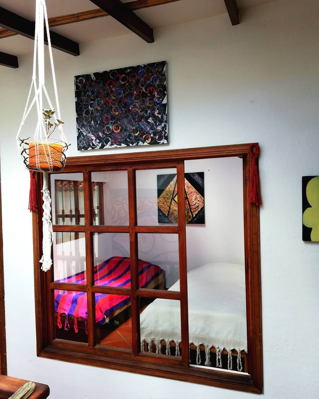 Beautiful hostel of Villa de Leyva