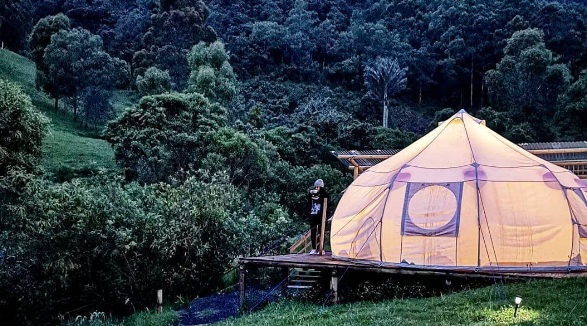 Best glamping Colombia