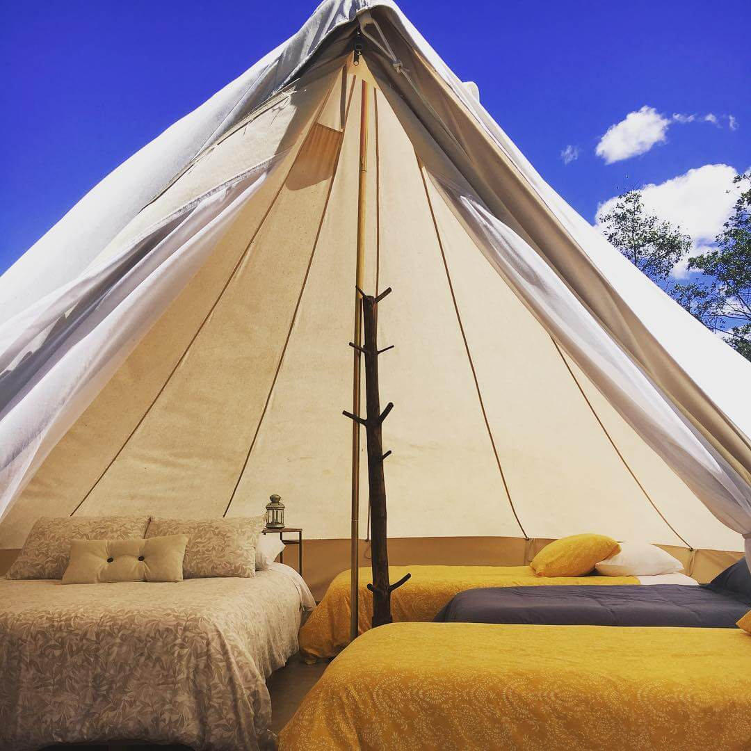 Glamping in Colombia Boyacá