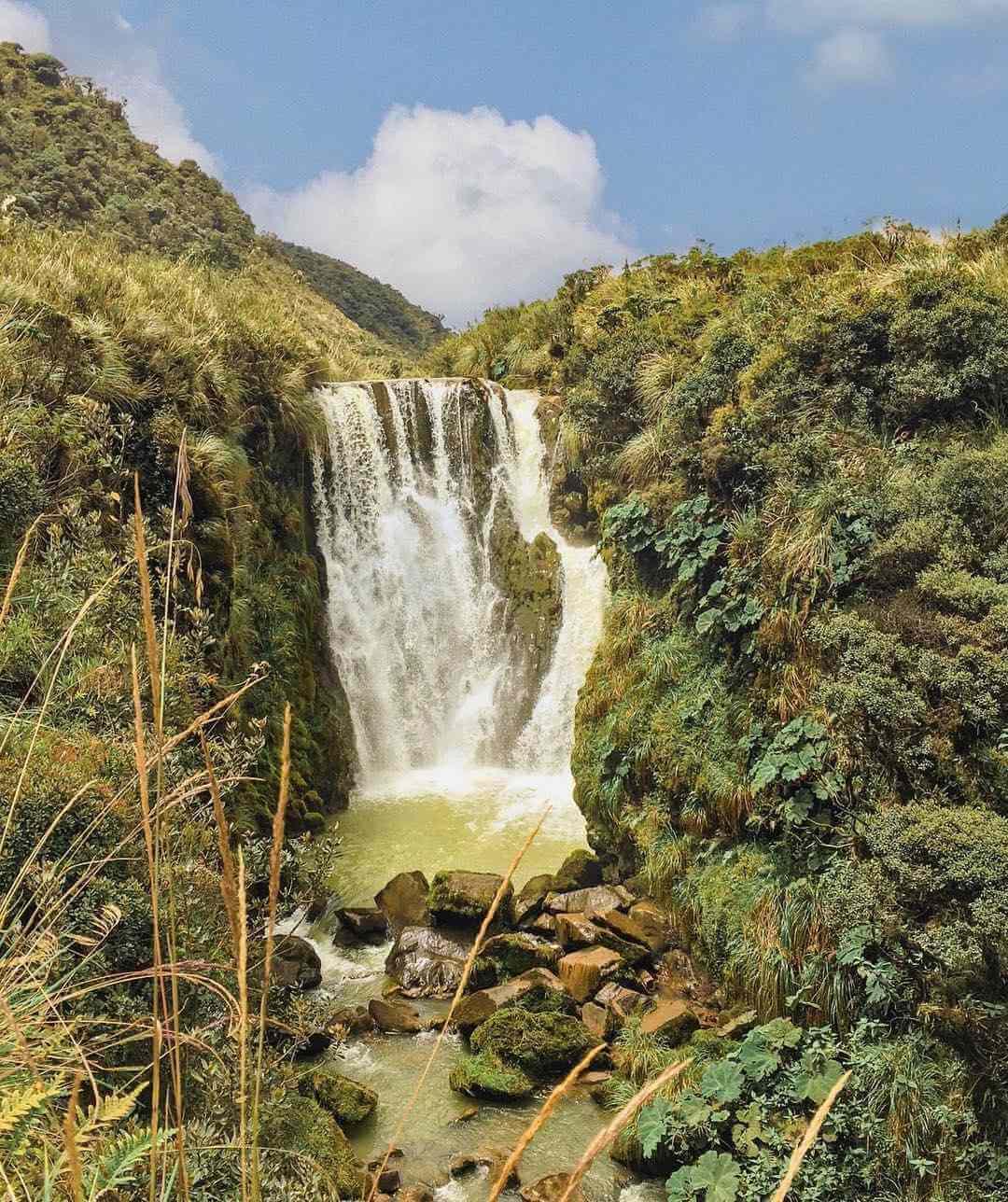 Cascadas en Popayán