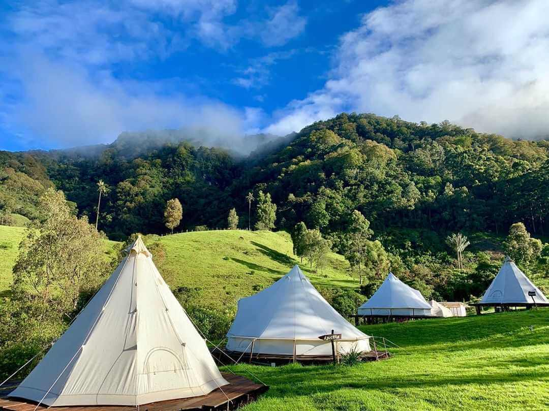 Lumbre Glamping in Colombia