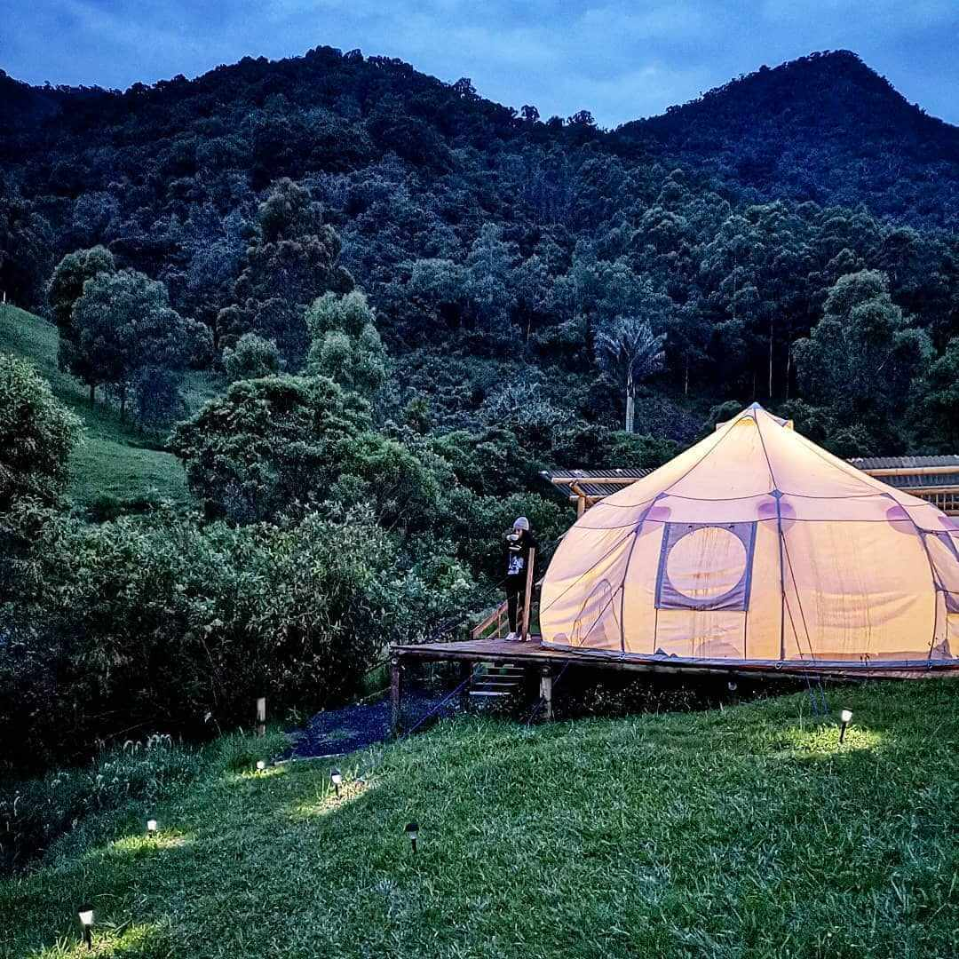 Lumbre Glamorous Camping Colombia