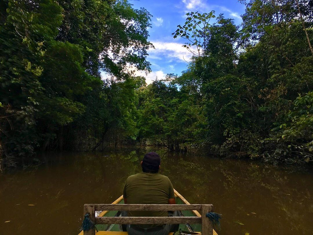 Nature reserves in the Colombian Amazon