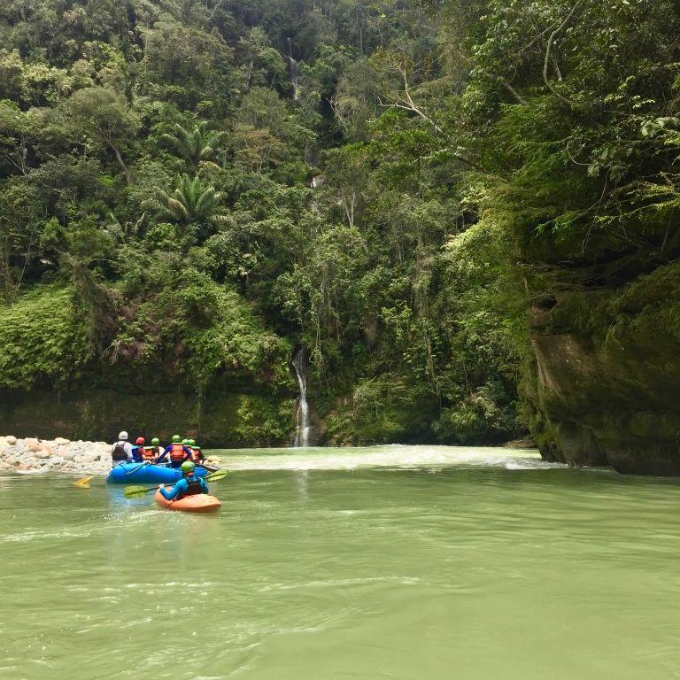 Rafting cañón río Güejar