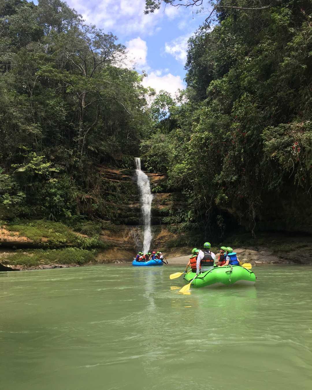 Río Güejar Mesetas Meta