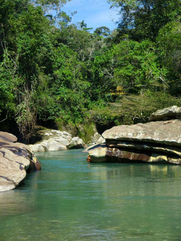 Piscinas naturales del río Güejar