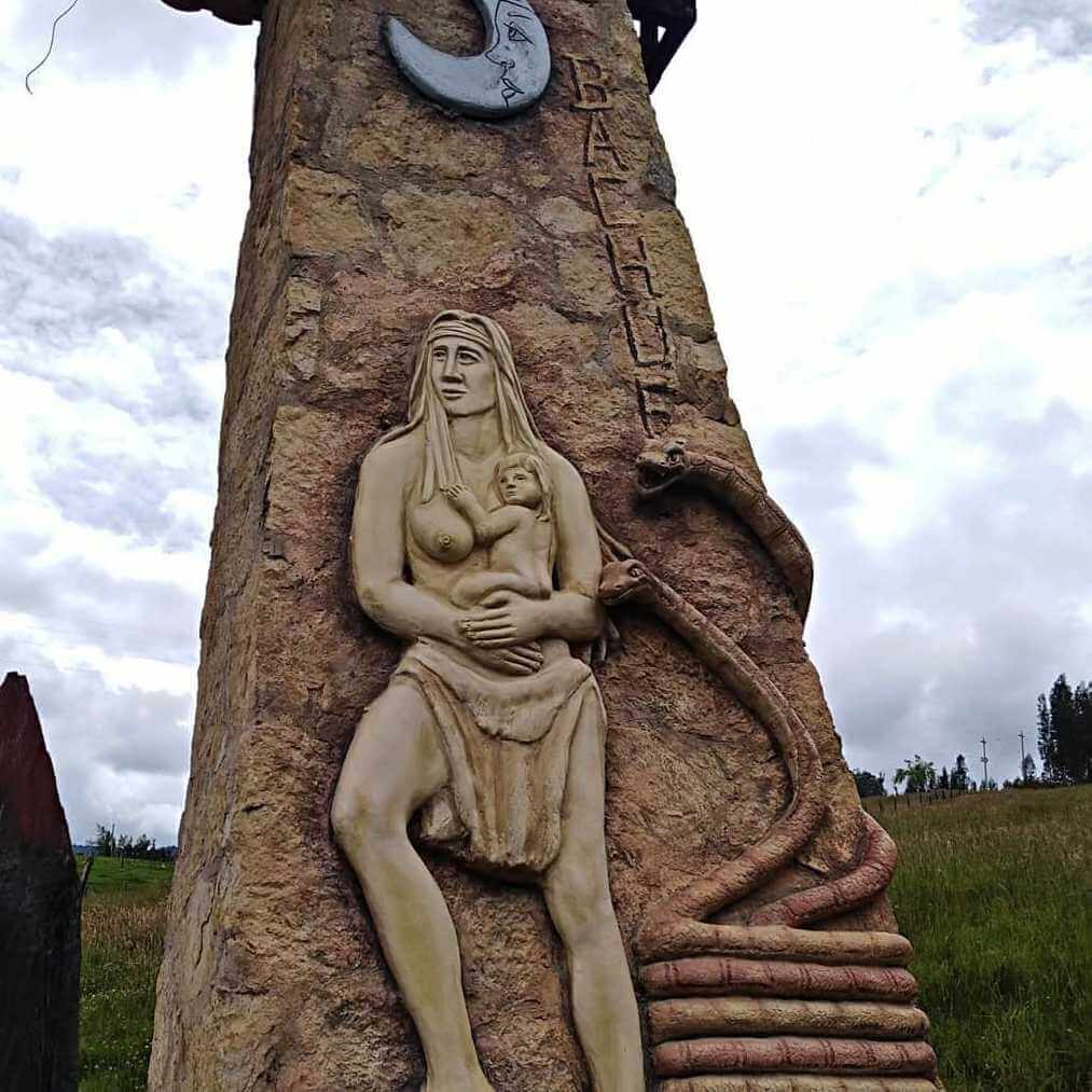 Bachue pueblos Boyacá Sugamuxi