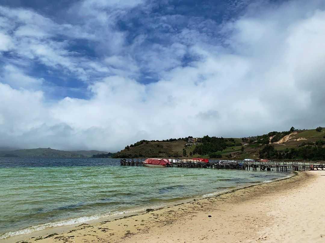 Where is Playa Blanca Boyacá?