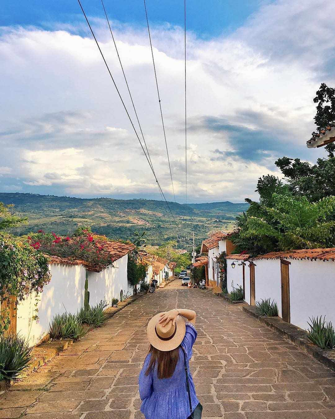 The most beautiful town in Colombia