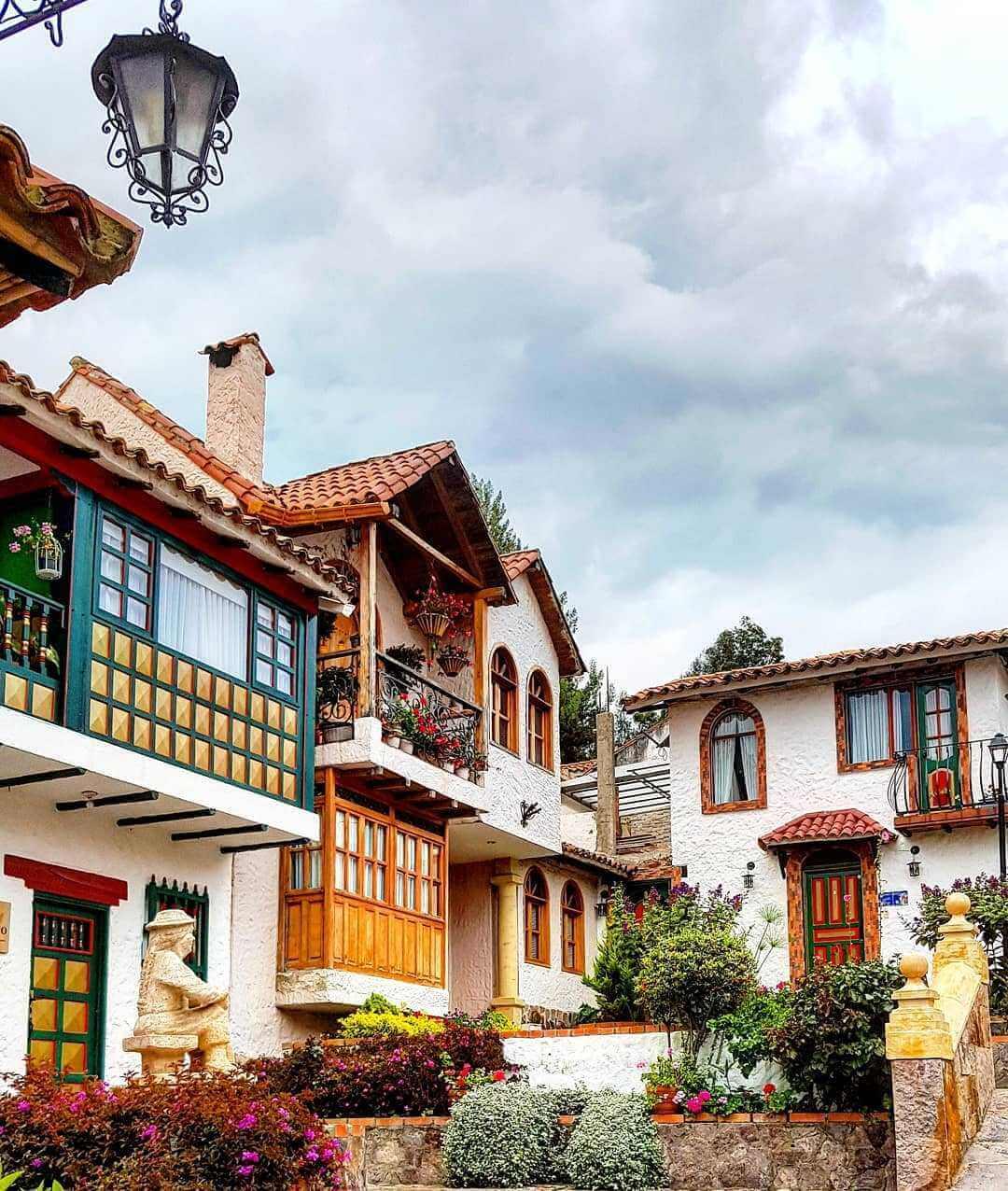 Hospedajes dentro Pueblito Boyacense Colombia