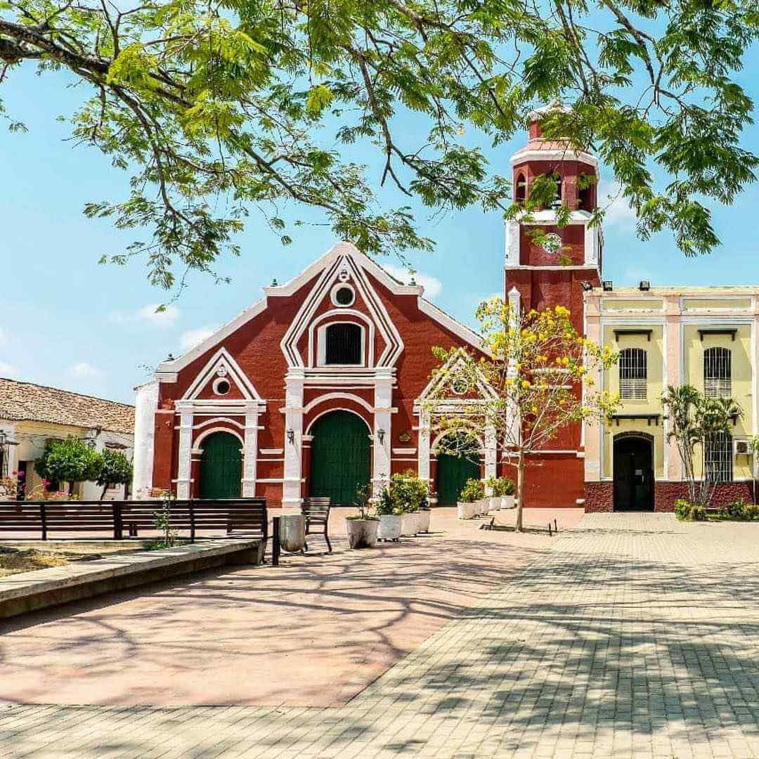 Iglesias mas lindas de Mompox