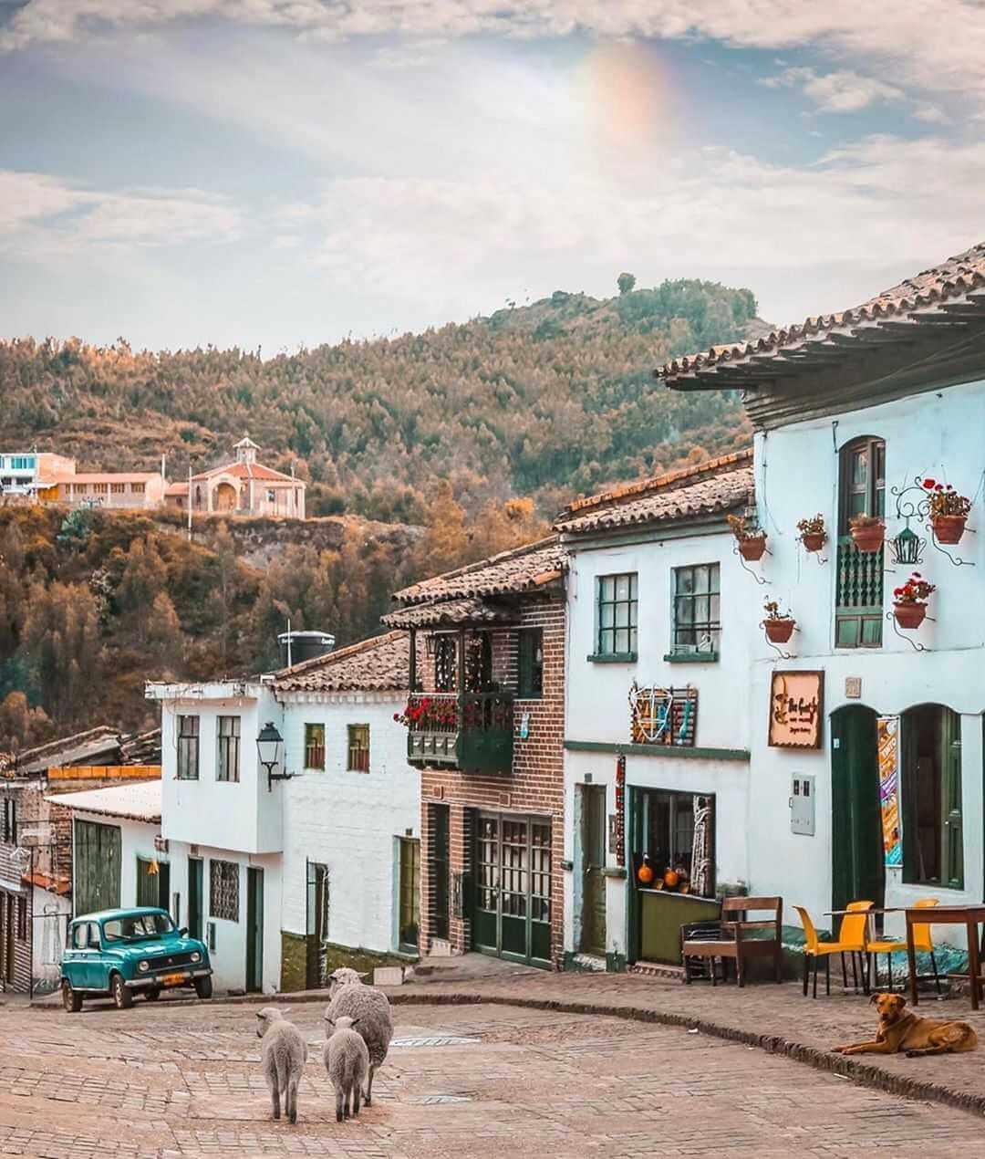 Monguí towns of Boyacá Colombia