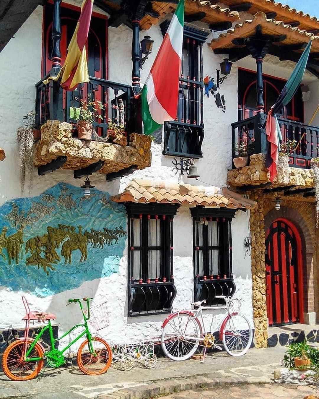Pueblito boyacense desde Bogotá