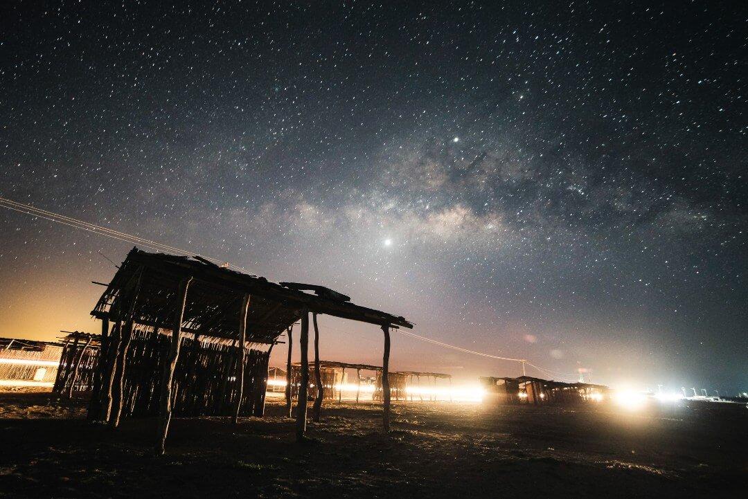 Cabo de la Vela de noche