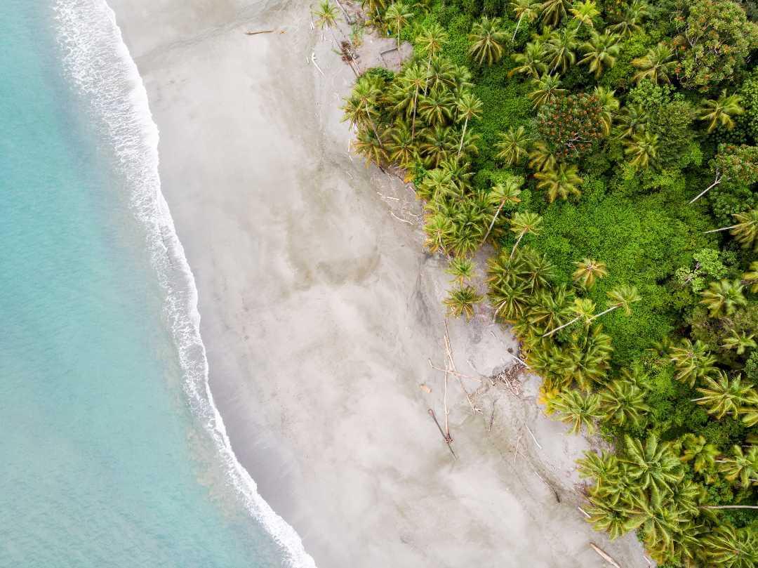Playas de las islas de Colombia en el Pacífico