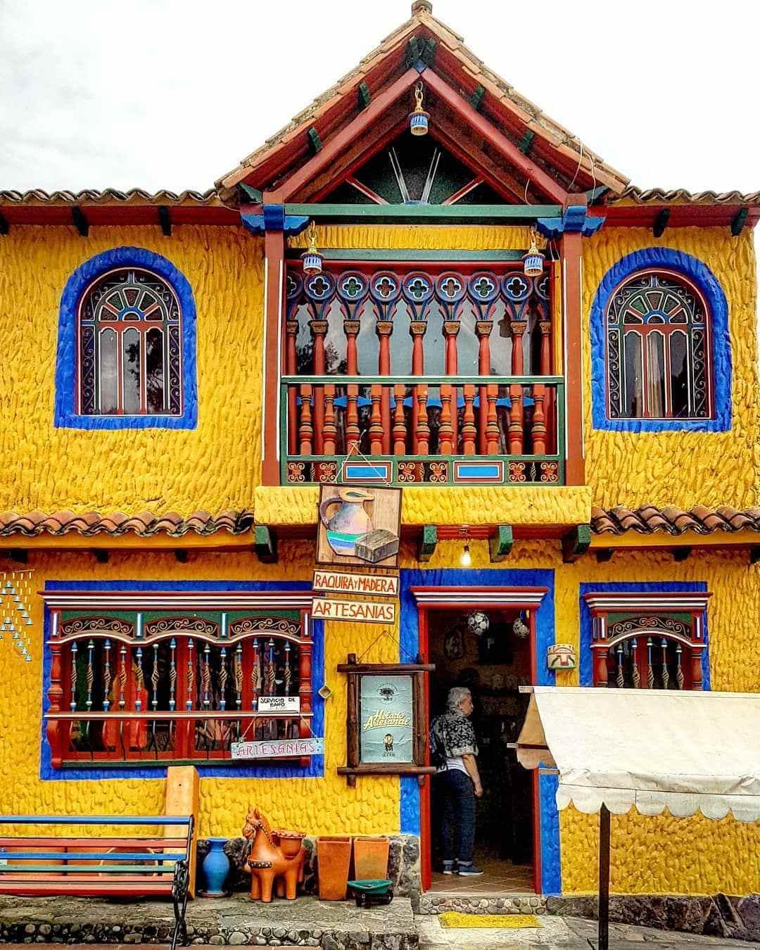Lugares turísticos de Colombia en Pueblito Boyacense