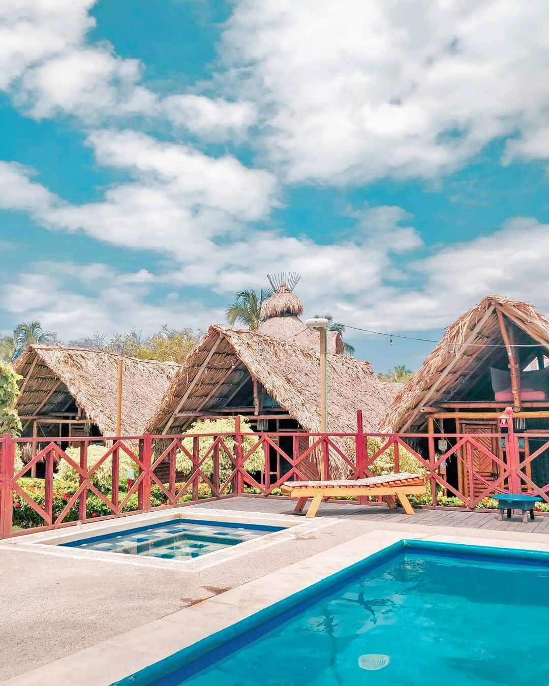 Hospedaje cerca a las playas del Caribe colombiano