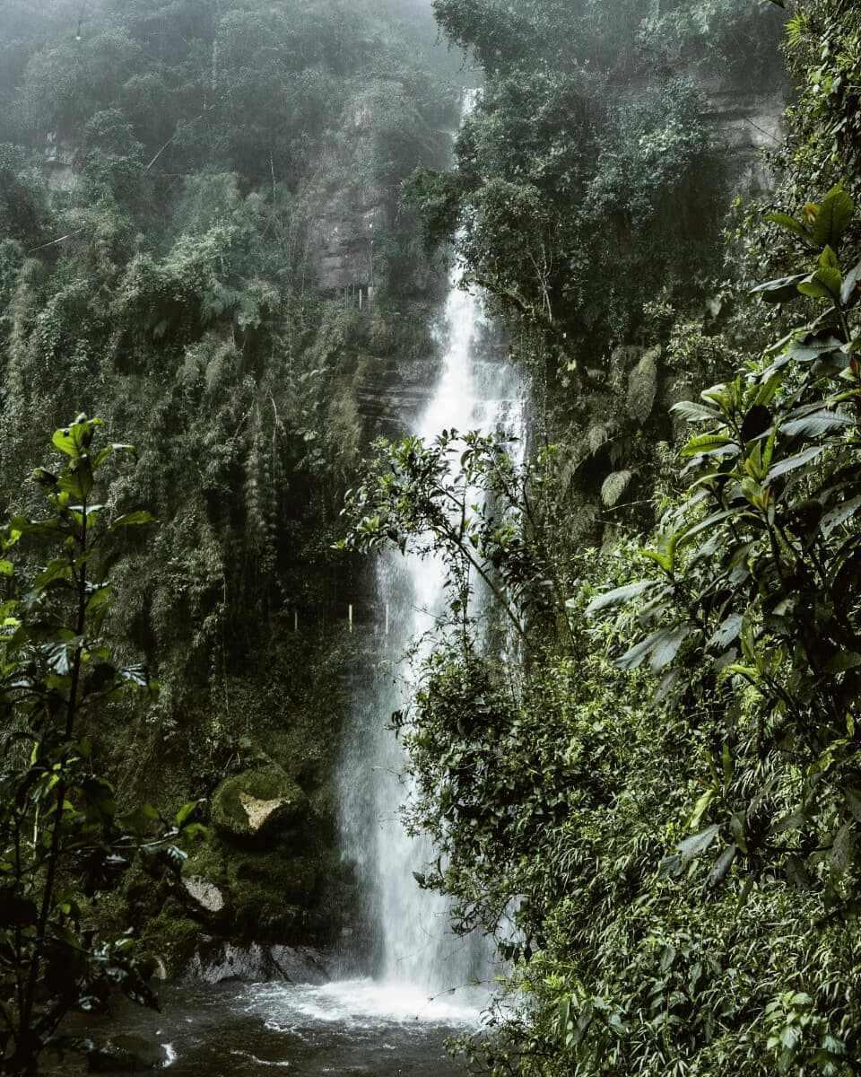 Cascada El Chiflón Choachí