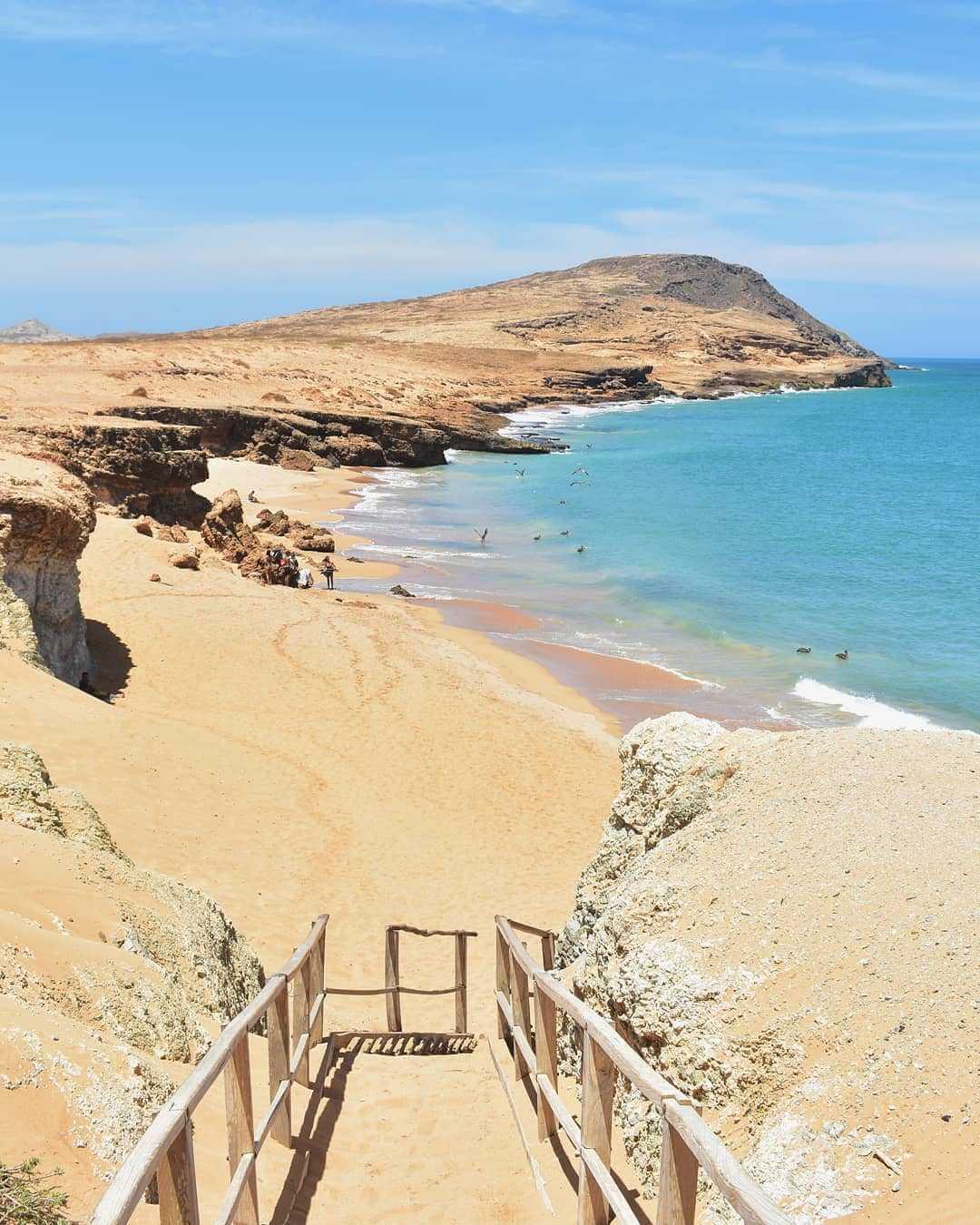 Lugares turísticos de Colombia en La Guajira