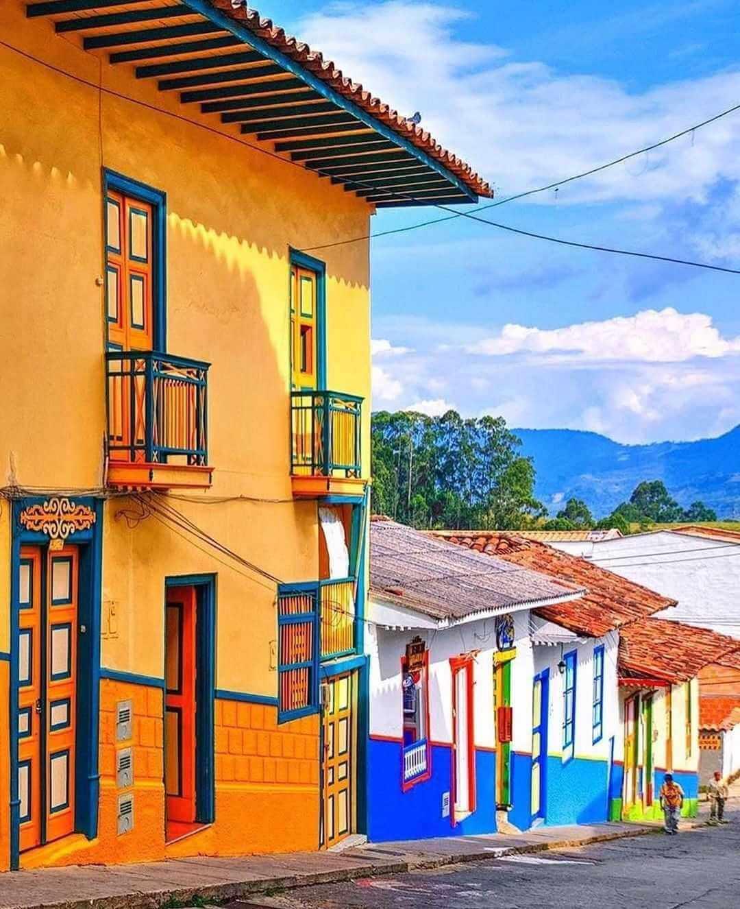 Pueblos y lugares turísticos de Colombia