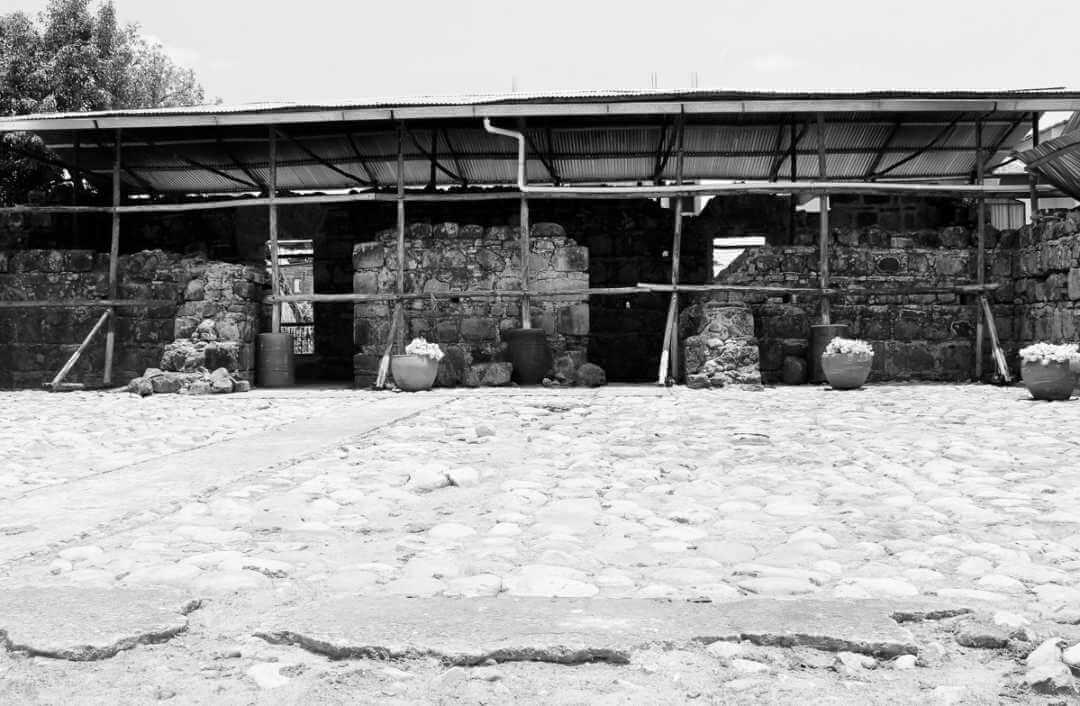 Ruinas del cuartel de Bolívar