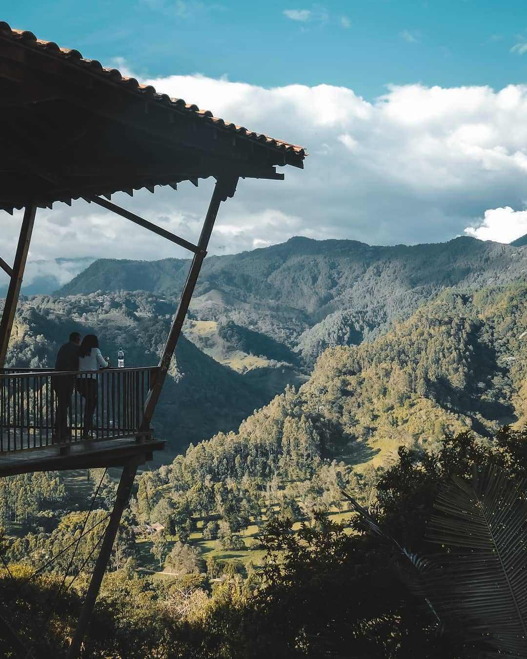 Mirador del Valle del Cocora Salento