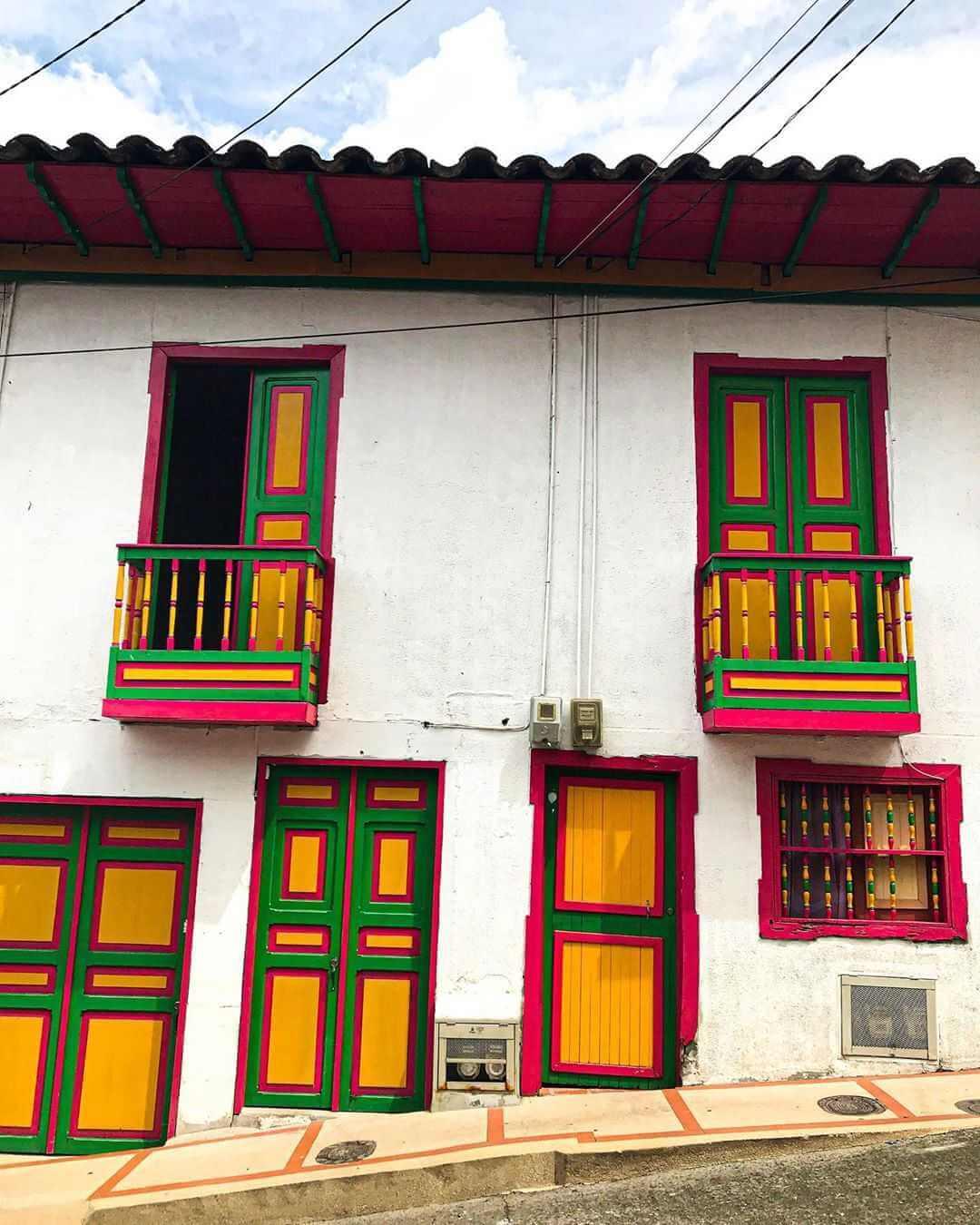 Pueblos del Eje Cafetero colombiano