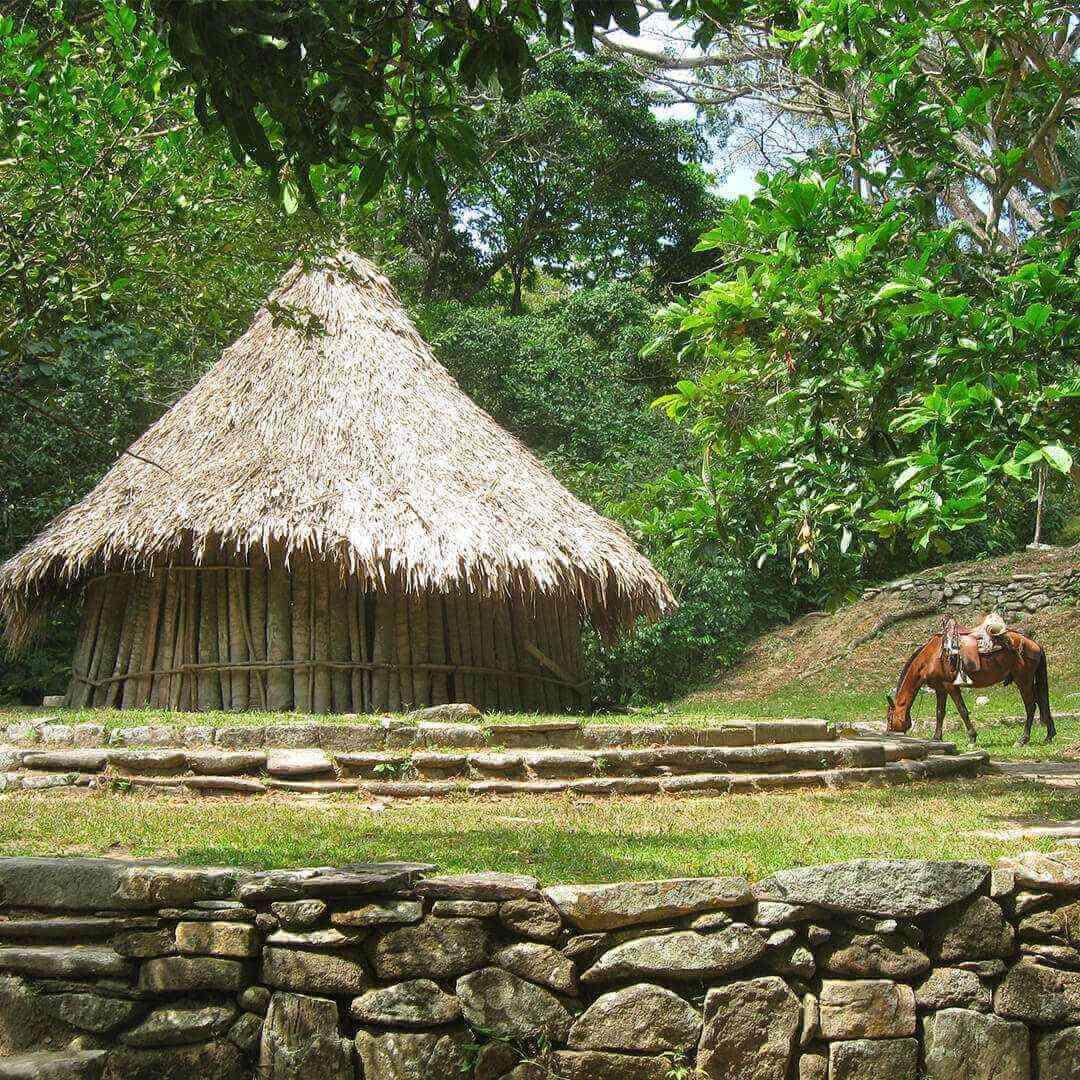 Pueblito Chairama centro Tairona