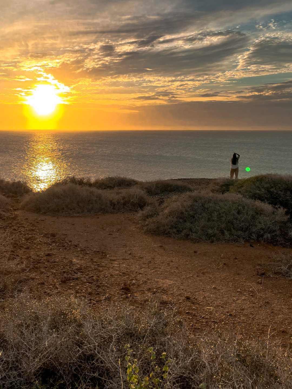 Atardecer en el Cabo de la Vela