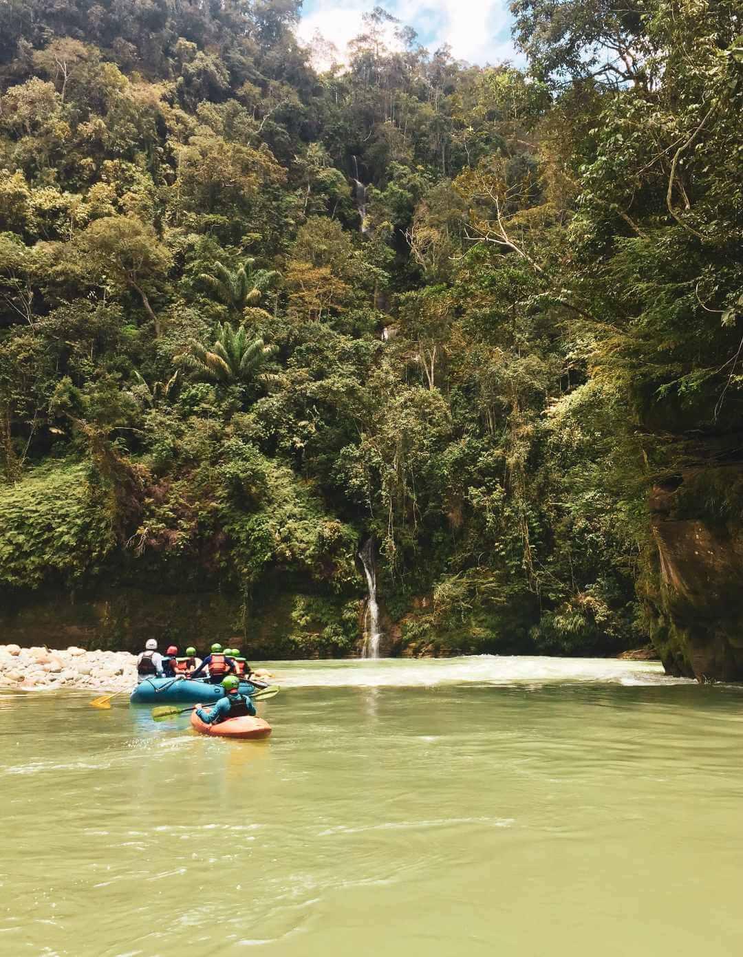 Tour rafting río Güejar
