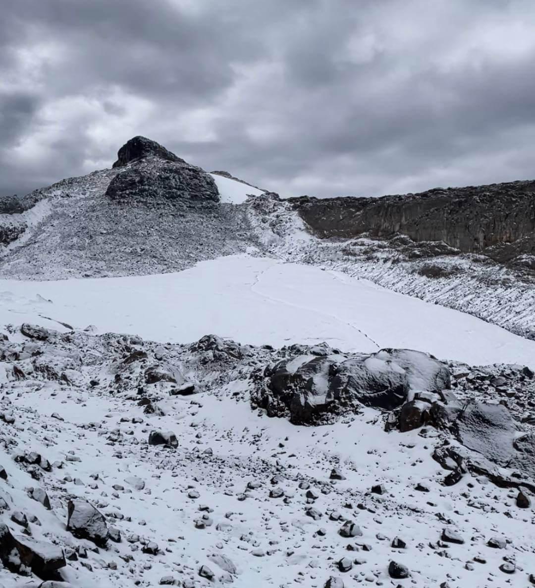 Nevado Santa Isabel cima centro
