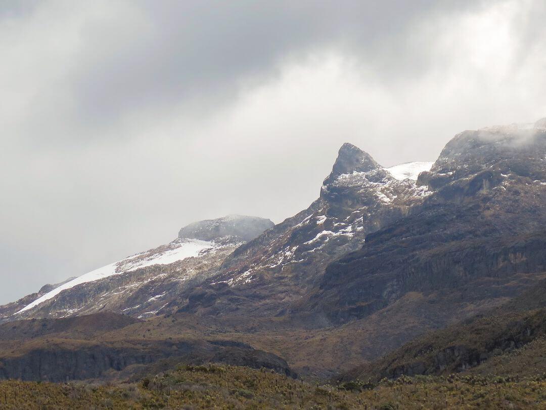 Nevado Santa Isabel cima sur