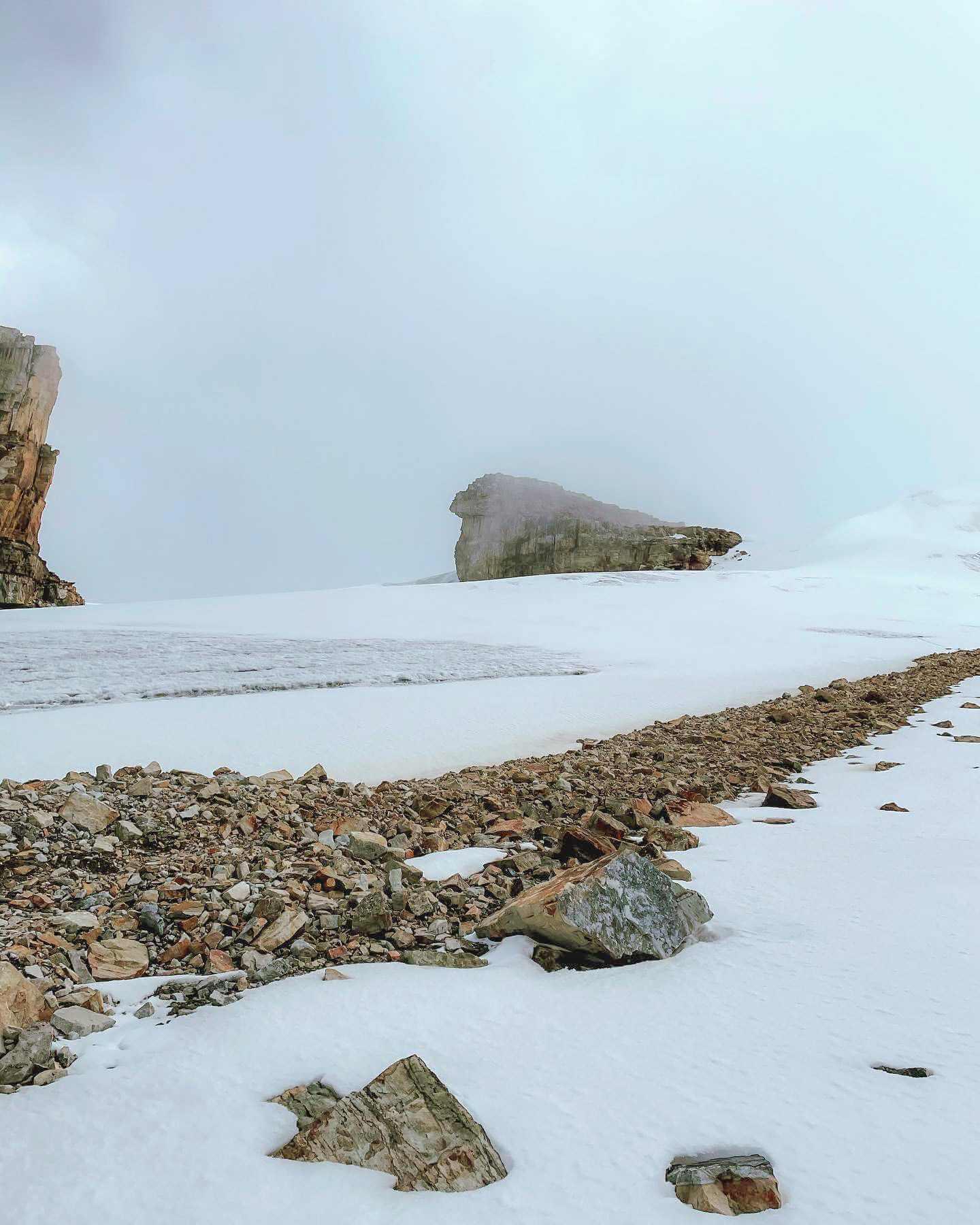 No pisar la nieve del Cocuy