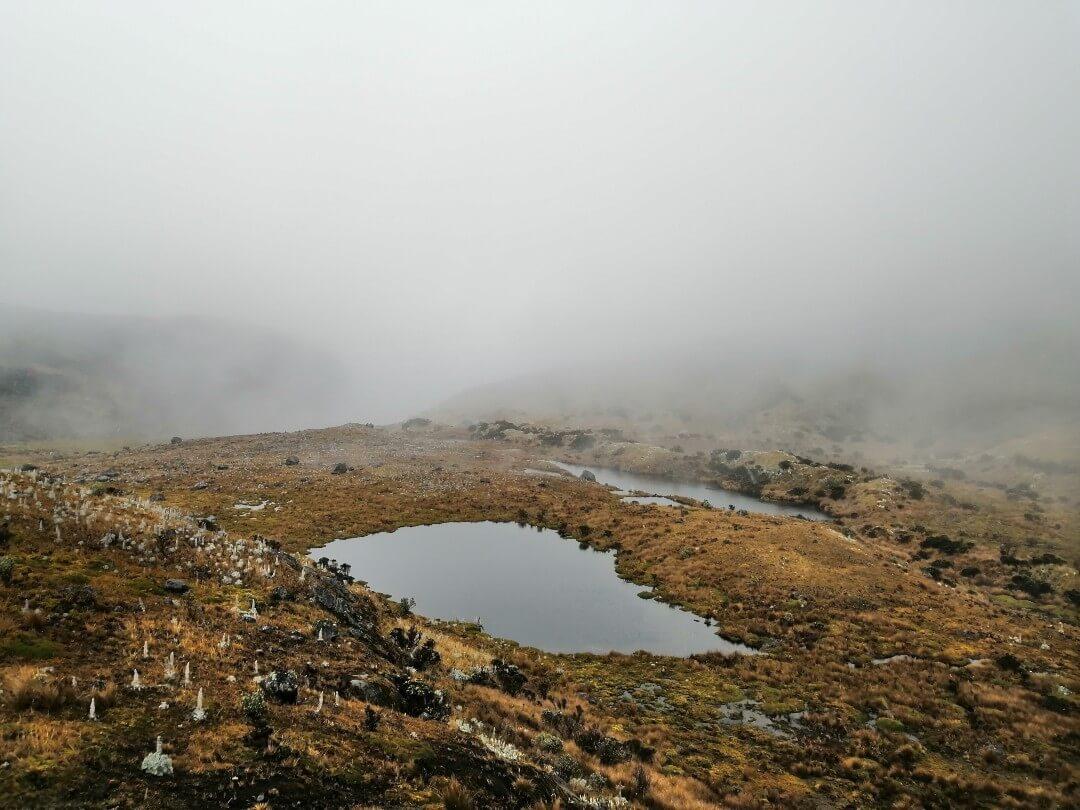 Sendero Laguna Verde Encantada Los Nevados