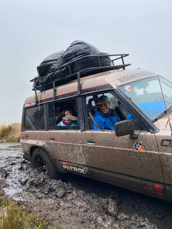 Camino al Parque Nacional Los Nevados Colombia