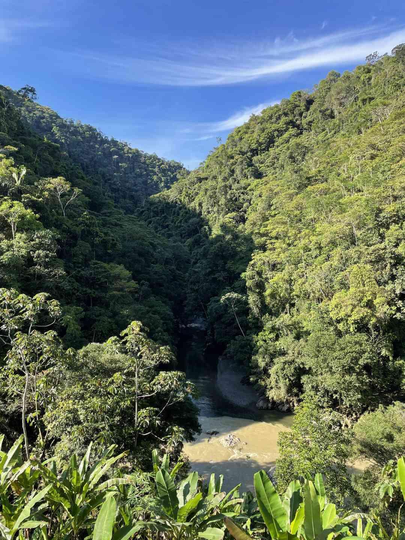 Cañón Anchicayá Valle del Cauca