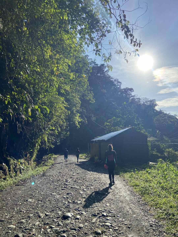 Cañon de Anchicayá Pacífico colombiano