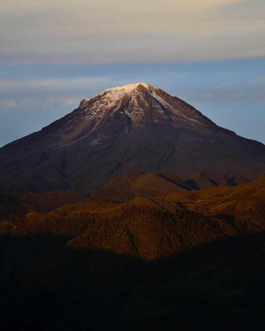 Cuales son los nevados de Colombia más altos