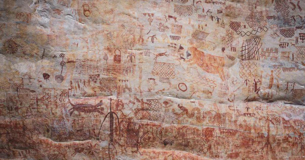 Pinturas rupestres Guaviare