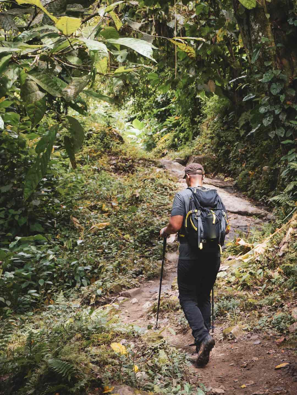 Dificultad caminata a Ciudad Perdida Colombia