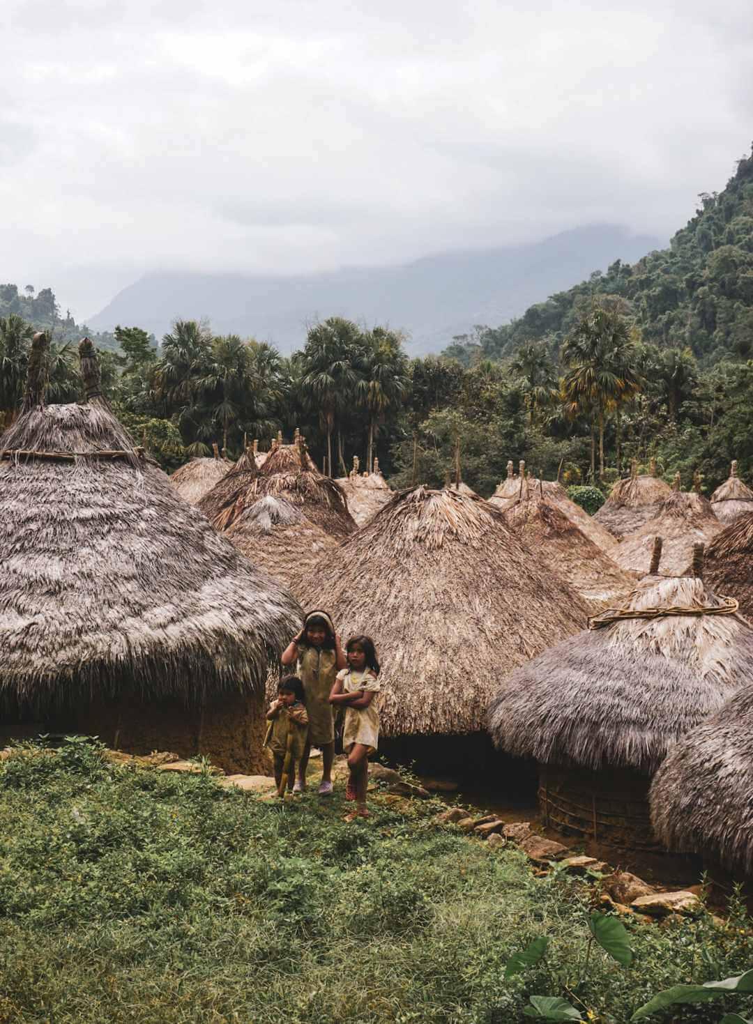 Pueblo indígena camino a Ciudad Perdida