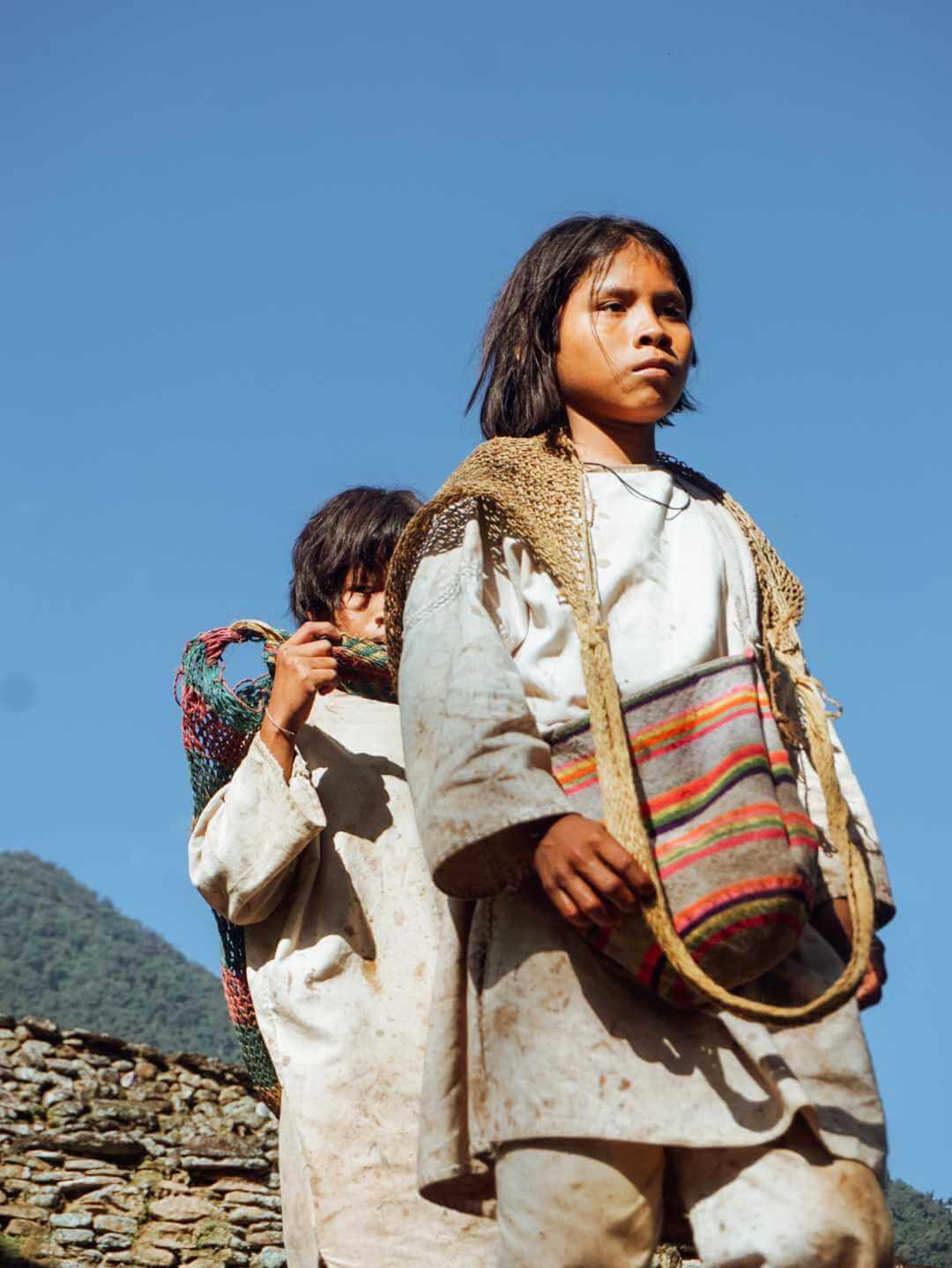 Pueblos indígenas de Ciudad Perdida Teyuna Santa Marta